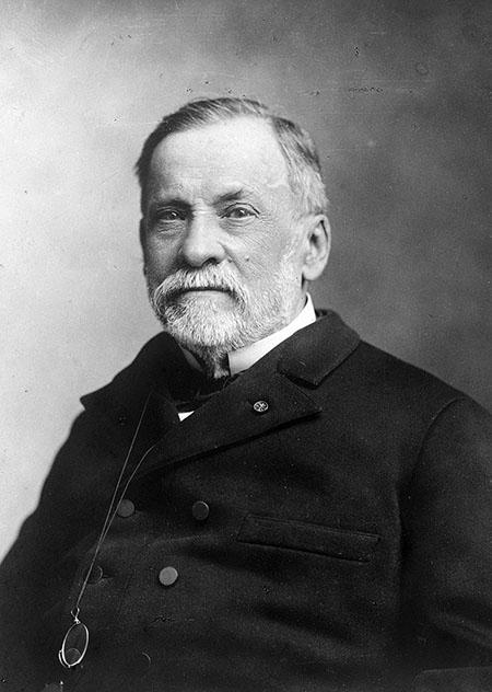 Louis Pasteur in 1881